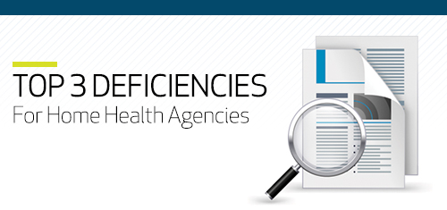 Top 3 Home Health Deficiencies for ACHC Customers